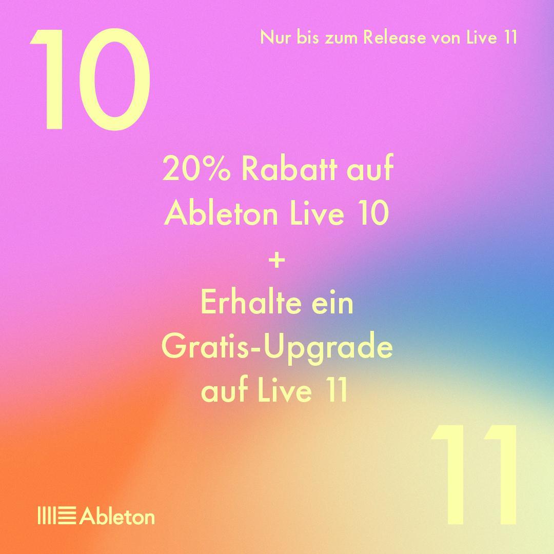Ableton Live 11 angekündigt