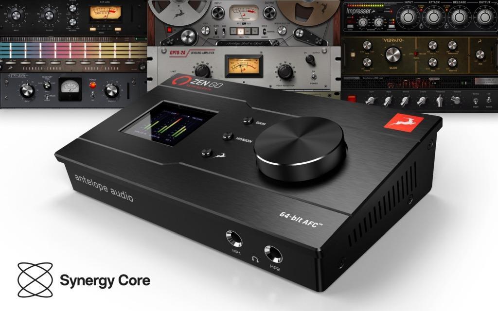 NAMM 2021: Antelope Zen Go Synergy Core