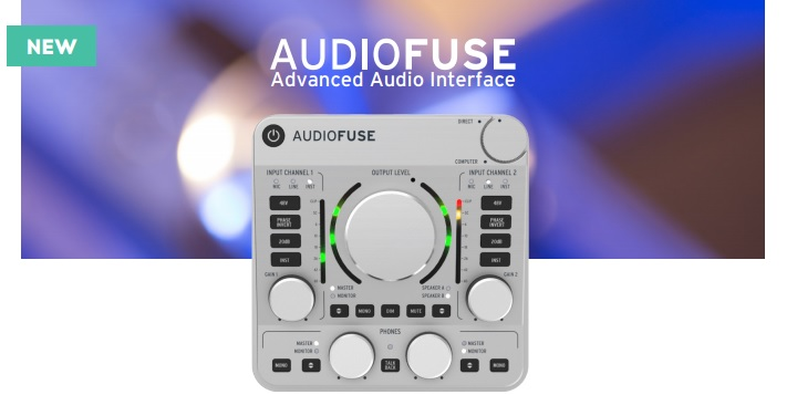 NAMM 2015: Arturia Audiofuse Advanced Audio Interface