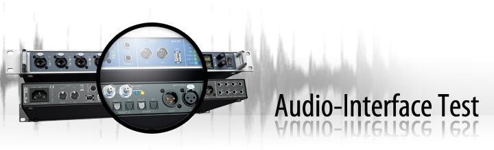 Audio-Interface Test