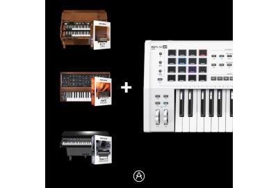Arturia KeyLab Keyboards mit 3 Plug-ins gratis