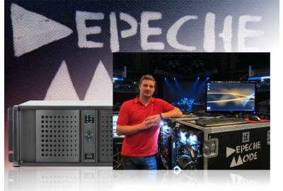 Depeche Mode setzen auf Audio Workstation von DA-X