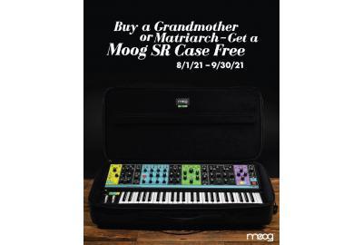 Moog Matriarch und Grandmother mit Case gratis