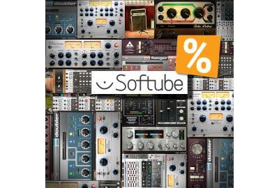 Softube - großer Jahresend-Sale - bis zu 58%