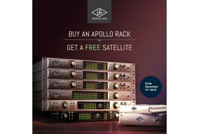 UA Apollo Rack Interface + Free UAD-2 Satellite
