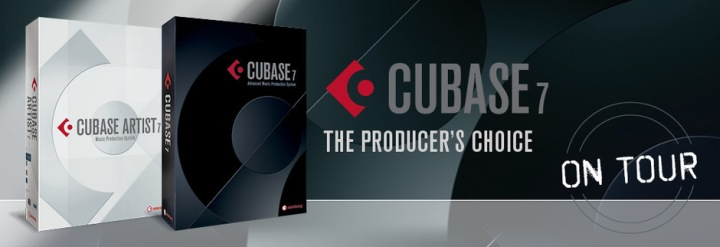 Cubase 7 on tour