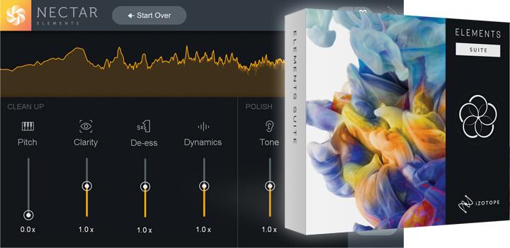 iZotope Nectar Elements - Jetzt bei uns erhältlich | Digital