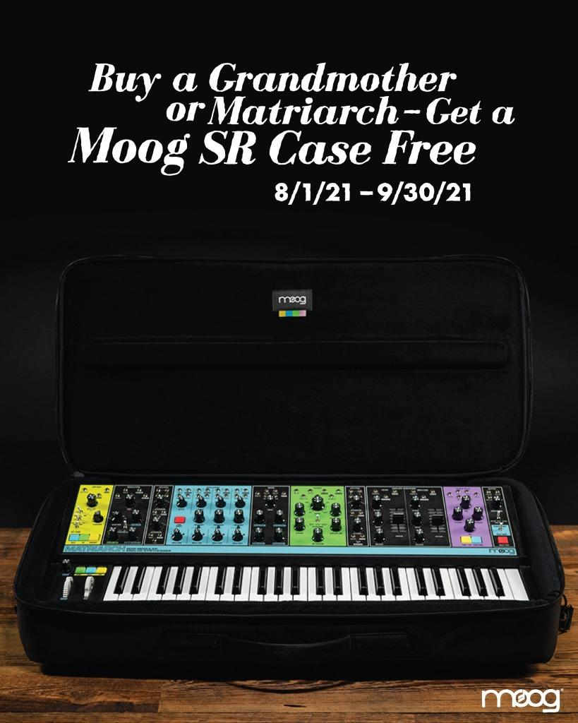 Moog SR Case Promo