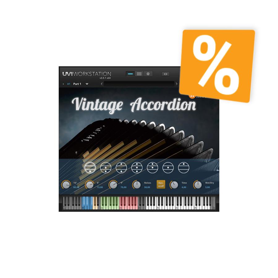 PSound Vintage Accordion - 45% Rabatt