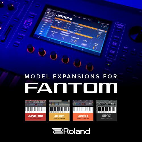 Roland Fantom Update 2.1 - ZEN-Core Expansions