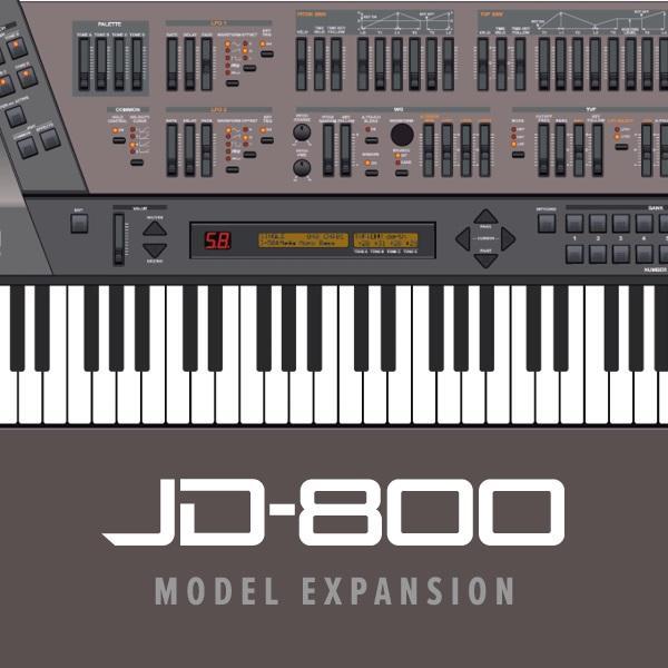 Roland JD-800 für Jupiter X und Jupiter Xm