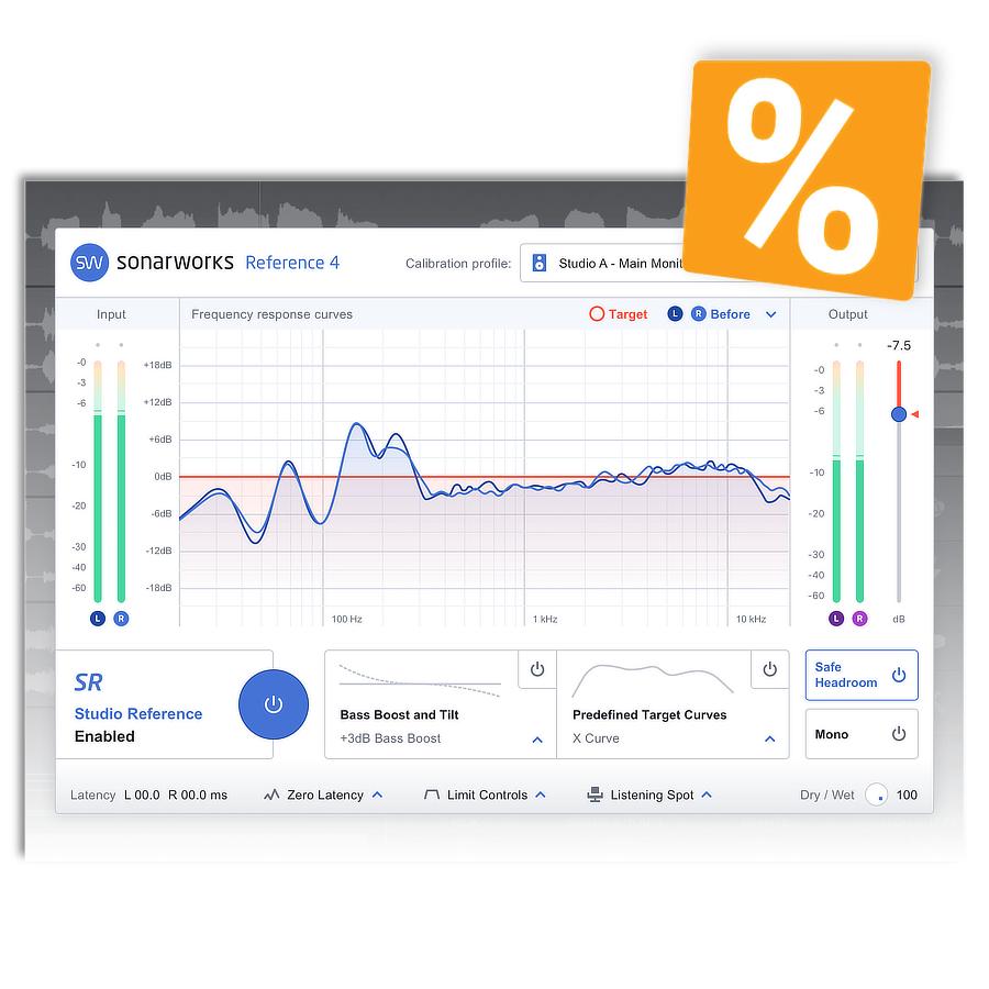 Sonarworks - bis zu 40% Rabatt - bis 26.11.2018