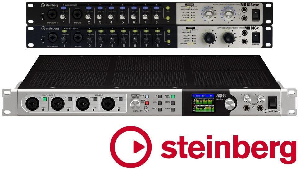 Steinberg MR816 auf AXR4 Upgrade-Angebot