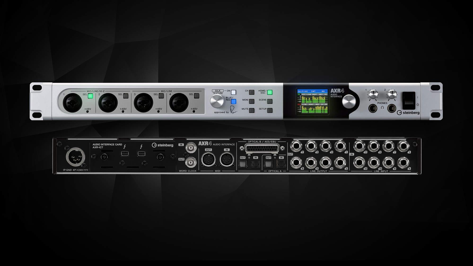 NAMM 2019: Steinberg AXR4 Thunderbolt Audio-Interface