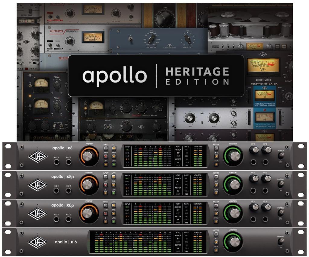 Universal Audio Apollo Heritage Edition