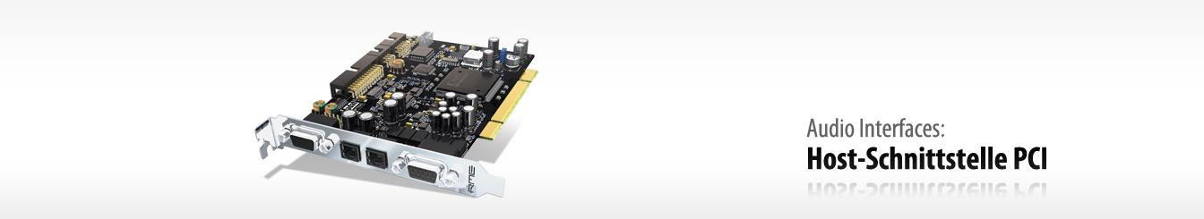 Audio Interface-PCI