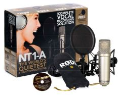 Rode NT1-A Complete Vocal Recording Solution-0